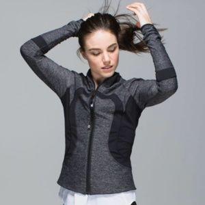 Lululemon Find Your Bliss Jacket Black / Gray